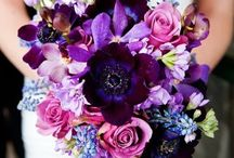 #Radiant Orchid Wedding Flower