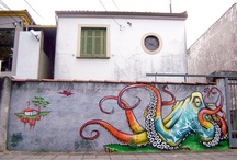 art wall / by Sarah Christine