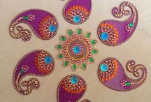 Indian bead work (kundan) / For my friend Gouri Joshi