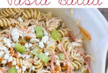 salad chicken pasta
