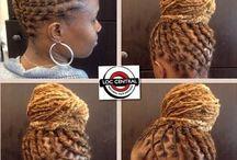 Natural hair & locks