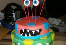 Monster themed 1st Birthday!
