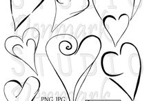 Hand Drawn Clipart and Vectors