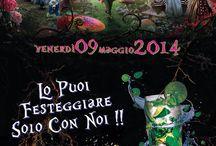 Eventi dei Locali / Raccolta delle locandine degli eventi nella Rhumerie