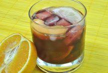 Bebidas: Drinks ans Smoothies ★ / Recetas de Batidos de Frutas y otras bebidas con y sin alcohol. Drinks and Fruit smoothies recipes.