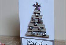 Boże Narodzenie / Ręcznie wykonane kartki z okazji świąt Bożego Narodzenia. Hanmade cards for Christmas.
