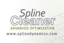 Spline Cleaner 3ds Max script / Spline Cleaner is an advanced batch processing tool for cleaning, repairing and managing spline curves in Autodesk 3ds Max. Clean, repair and organize thousands of splines in no time!