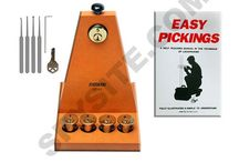 Lockpicking / When people hear that someone wants to learn to lockpick, it can often invoke a negative connotation. However, having the ability to get into a locked building or vehicle can be beneficial in a number of scenarios, and knowing how to lock pick and possessing the right locksmith supplies is an excellent position to be in. We offer both the tools and materials to give anyone quick access to inaccessible areas.