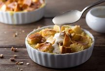 Desserts - bread pudding