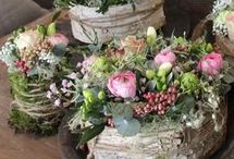 Blumen und Deco