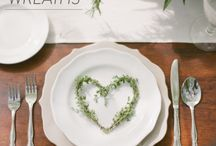 mesa com ervas