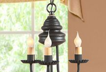 Chandeliers / Primitive and Country Lighting made by Irvin's Country Tinware