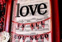 Valentine's Day Crafts and Decor. / by Sara Nolting (3.6.5 Design)