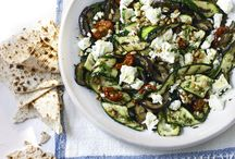 Greek inspired food