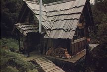 Trehus,lafting/Wooden houses and  log cabins