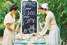 vintage tea room