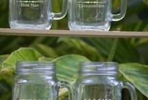 Mason  Jars  For  The  Wedding  Party / by katie nichols