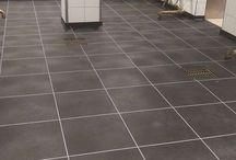 BoFloor PVC Horecavloeren / PVC tegels als alternatief voor keramische tegels, coatingvloeren, epoxy-of gietvloeren.