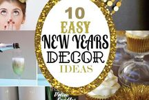 New year party decor