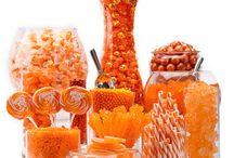 Orange themed Candy by Color