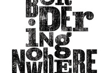 GD - Type / Letterpress & Woodcut / by David San Miguel