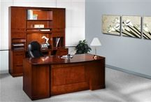Luxurious Home Office Interiors / Need a little home office design inspiration? We've got you covered! Here we'll highlight luxurious home office work environments and interiors furnished with best selling desks, chairs, and storage solutions. Enjoy!