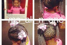 baby hair style