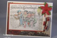 SU - Christmas Carolers / by Sue Cartwright