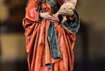 Virgem e o menino jesus