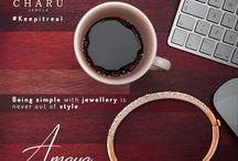 Amaya Collection: Fine Jewelry for Work / Unique, Stylish & Simple Collection of Jewelry for your Office Attire.