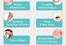 Feet treatments