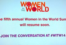 Women in the World 2014 / We're out in New York City this week celebrating the true stories of courage, resilience and determination with women and men from around the world with Women in the World.