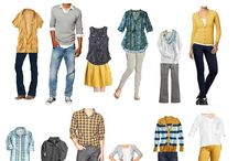 Family: What to Wear Inspiration Board