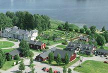 Kenkävero puutarha / Kenkäveron puutarhassa on yli 500 erilaista yrtti- ja rohdoskasvia.