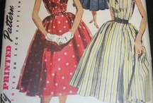 Vintage Sewing Patterns / by Lindsey Davey
