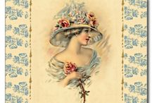 DivaMM Vintage/Retro Designs / Vintage/Retro on paper products and accessories. Separate board for home decor.