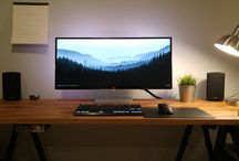 Inspirational Desktop Setups / Inspirational Desktop Setups will help you facilitate the emotions you need in order to be more productive and enjoy the process