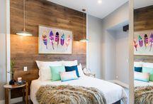 Ideas for a beautiful bedroom / Ideas on featuring oak in bedrooms