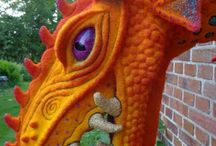 Dragons, mythical creatures / by Bridgit's Bell