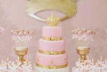 decoração de festa princesa