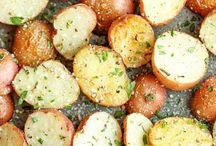 Vegetables roasted/oven baked