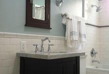 bathroom remodel / by Becca Jellis