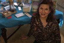 Author U Autumn Tea (b) Mara Purl with her Milford-Haven Novels