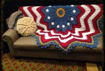 Afegãos em Crochê Patriótico / Afghanis under Crochet Patriotic