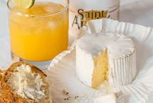 Cheese Desserts / Best Cheese Desserts with our Ile de France® Brie, our heavenly cheese Saint André®, our Ile de France® Goat Cheeses...