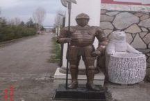 Knight Statues