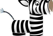Zebra papir