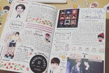 Kpop Journal Ideas.