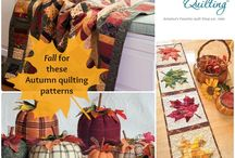 Halloween Quilting Projects / Quilting projects for fall, Halloween, .. / by Quilting Daily