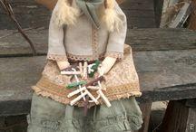 Авторские куклы ручной работы